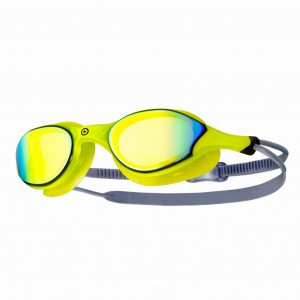 Okulary Open Water TRIPOWER SHOWO Lime